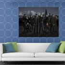 Chicago PD Characters Cast Tv Series HUGE 48x36 Print POSTER