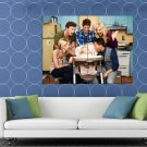 Baby Daddy Funny Characters Cast Tv Series HUGE 48x36 Print POSTER
