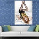 Avril Lavigne Pop Punk Singer Music HUGE 48x36 Print POSTER