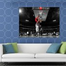 John Wall Washington Wizards Slam Dunk Contest HUGE 48x36 Print POSTER