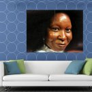 Whoopi Goldberg Actress Portrait Painting Art HUGE 48x36 Print POSTER