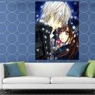 Vampire Knight Yuki Cross Zero Kiryu Painting Anime HUGE 48x36 Print POSTER