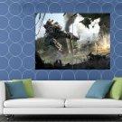 Titanfall Video Game Art Mech Battle HUGE 48x36 Print POSTER