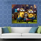 Despicable Me 2 Minions Happy Cool Funny Movie HUGE 48x36 Print POSTER
