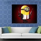 Despicable Me 2 Minion Hitman Cool Funny Movie HUGE 48x36 Print POSTER