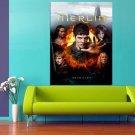 Merlin TV Series Cast Colin Morgan 47x35 Print Poster