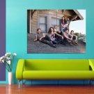 Shameless TV Series Cast 47x35 Print Poster
