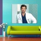 Grey S Anatomy Patrick Dempsey Dr Derek Shepherd 47x35 Print Poster