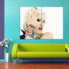 Gwen Stefani Singer No Doubt Hot Blonde 47x35 Print Poster