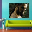 Jason Momoa Khal Drogo Warrior 47x35 Print Poster