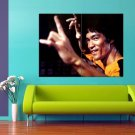 Bruce Lee Actor Martial Arts 47x35 Print Poster