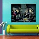 Battlestar Galactica TV Series Cast 47x35 Print Poster