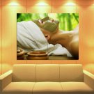 SPA Face Mask Beauty Salon Health 47x35 Print Poster