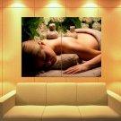 SPA Massage Aromatherapy Relaxation 47x35 Print Poster