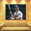 Joe Mauer Baseball Catcher Minnesota Twins Sport 47x35 Print Poster
