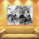 John Wayne American Western Legend Rangers 47x35 Print Poster