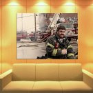 Rescue Me John Scurti Kenneth Lou Shea FDNY Firefighter 47x35 Print Poster