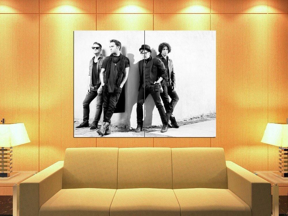 Fall Out Boy Rock Band Pop Punk Music 47x35 Print Poster