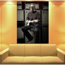 Eric Clapton Guitar Legend Rock And Roll Music 47x35 Print Poster