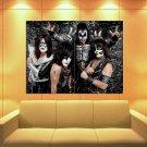 KISS Hard Rock Band Music 47x35 Print Poster