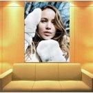 Jennifer Lawrence Portrait Actress Huge Giant Print Poster