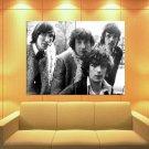 Pink Floyd Rock Band Music Bw Huge Giant Print Poster