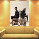Capital Cities Indie Pop Band Music Huge Giant Print Poster