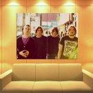 Arctic Monkeys Indie Rock Band Music Huge Giant Print Poster