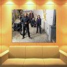 Criminal Minds Suspect Behavior Cast Tv Series Huge Giant Print Poster