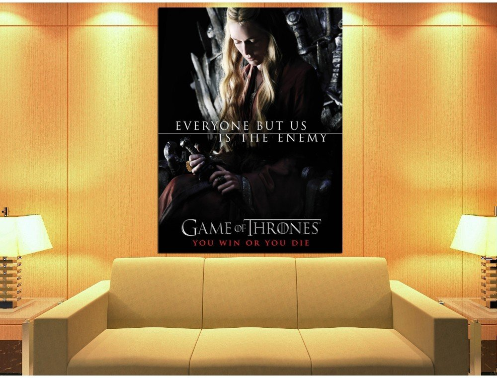 Game Of Thrones Cersei Lannister Cast Tv Series Huge Giant Print Poster