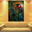 Dredd 2012 Movie Judge Awesome Painting Art Huge Giant Print Poster