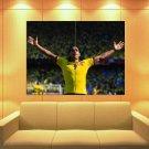 Radamel Falcao El Tigre Colombia As Monaco Football Huge Giant Print Poster