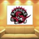 Toronto Raptors Logo Basketball Sport Art Huge Giant Print Poster