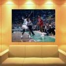 Julius Erving Dr J Sixers Retro Vintage Basketball Huge Giant Print Poster
