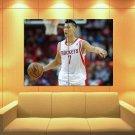Jeremy Lin Shu How Houston Rockets Basketball Huge Giant Print Poster