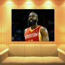 James Harden Houston Rockets Beard Basketball Huge Giant Print Poster