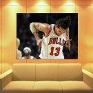 Joakim Noah Chicago Bulls Basketball Sport Huge Giant Print Poster