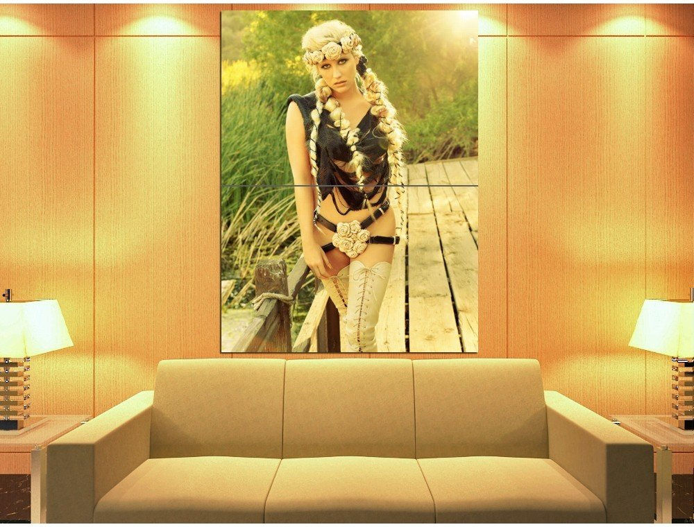 Kesha Hot Pop Music Singer Rare Huge Giant Print Poster