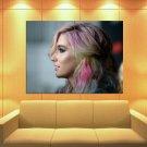 Kesha Colored Hair Portrait Pop Music Singer Rare Huge Giant Print Poster