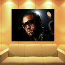 Kanye West Sunglass Portrait Hip Hop Music Rare Huge Giant Print Poster