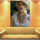 Gwen Stefani Pop Music Singer Rare Huge Giant Print Poster