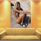 Doutzen Kroes Sexy Pose Model Rare Huge Giant Print Poster