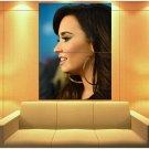 Demi Lovato Beautiful Portrait Pop Music Singer Rare Huge Giant Print Poster