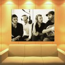 Coldplay Rock Band Music Rare Huge Giant Print Poster