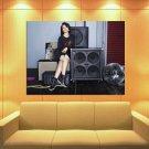 Alicia Keys R B Music Singer Rare Huge Giant Print Poster