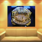 Los Angeles Lakers Champion Ring Basketball Sport Huge Giant Print Poster