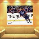 Wayne Gretzky Edmonton Oilers Hockey Sport Huge Giant Print Poster