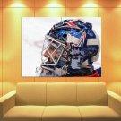 Henrik Lundqvist New York Rangers Hockey Sport Huge Giant Print Poster