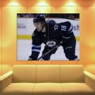 Bryan Little Winnipeg Jets Hockey Sport Huge Giant Print Poster