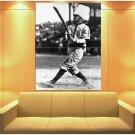 Honus Wagner Pittsburgh Pirates Vintage Bw Baseball Huge Giant Print Poster